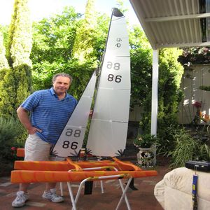 Ian's Nightmare MK VIII - Mini40 Trimaran