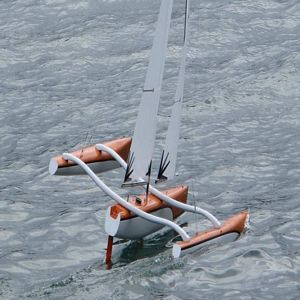 Chris's Nightmare MK VIII - Mini40 Trimaran