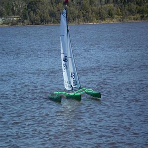 Glen's Nightmare MK VIII - Mini40 Trimaran