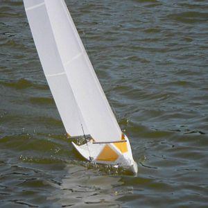 RCSails - Maniac II - IOM Class Yacht